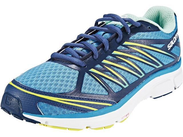 Salomon X-Tour 2 Chaussures de trail Femme, mist blue/slateblue/gecko green
